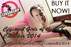 'Censored Girls of the U.K.' Calendar Debuts
