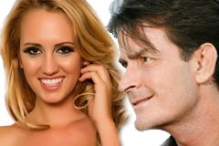 Brett Rossi Engaged to Charlie Sheen