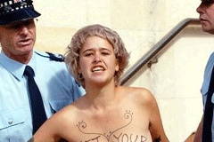 Topless Protestor Wins Appellate Case