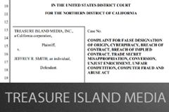 Treasure Island Media Sues Former Marketing Director