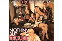 Stormy, Asa Akira Star in Wicked's 'Nothin' But Trouble'