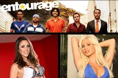 Anna Morna, Spencer Scott Appear in 'Entourage' Movie