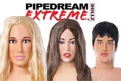Pipedream Extreme Dollz Now in Stock, Shipping