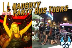 Sienna Sinclaire, Rock On Co-Sponsor 'Naughty Party Bus Tours'
