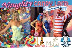 Sienna Sinclaire Hosts 'Naughty Candy Land' With Maia Toys, Rock On