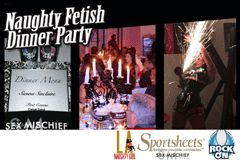 Sportsheets, Rock On Sponsor Sienna Sinclaire's 'Naughty Fetish Dinner'
