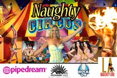 Sienna Sinclaire Brings 'Naughty Circus' to L.A.