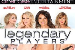 Airerose Entertainment Ships 'Legendary Players' With Nina Hartley, Julia Ann