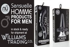 Williams Trading Debuts Nu Sensuelle Homme Line for Men