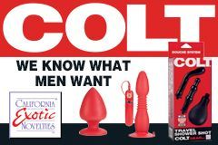 California Exotic Novelties Releases New COLT Gear