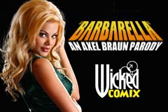 Axel Braun to Launch Wicked Comix With 'Barbarella XXX'