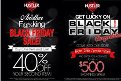 Hustler Hollywood Launches Black Friday Sale, Sweepstakes