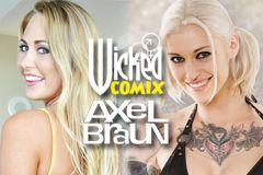 Carter Cruise, Kleio Valentien Cast in Axel Braun's 'Batman vs. Superman XXX'