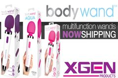 XGEN Products Shipping Full Collection of Multi-Function Bodywands