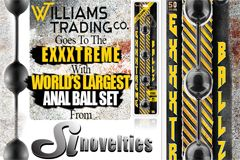 Williams Trading Offering SI Novelties' Anal Ball Set