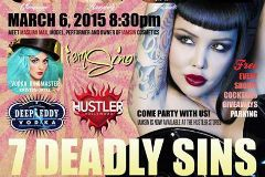 Hustler Hollywood Throws '7 Deadly Sins' Event