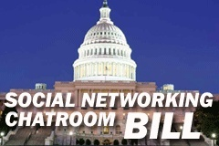 U.S. Bill Returns to Target Social Networking, Blogs