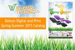 Williams Trading Debuts Spring-Summer 2015 Catalog