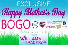 Williams Trading Offering Mother's Day BOGO Deal