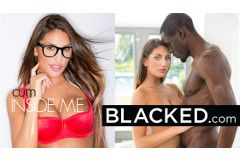 August Ames Lands Cover of 'Cum Inside Me' for Blacked.com