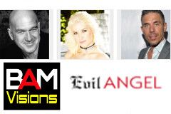 Evil Angel Signs Deal With BAM Visions Helmed by Anikka Albrite, Mick Blue, Maestro Claudio