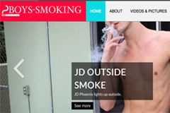 Stunner Media Relaunches Boys-Smoking.com