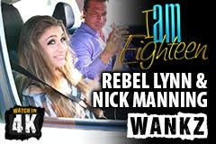 Nick Manning and Rebel Lynn in New Scene for Wankz
