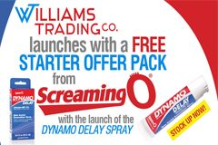 Williams Trading, Screaming O Offering Free Display