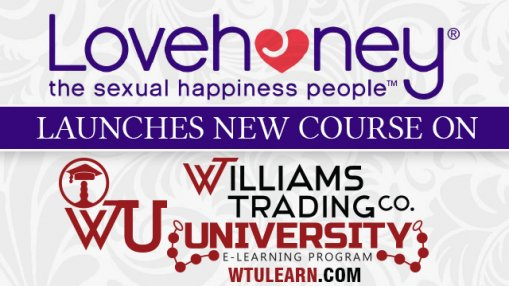 Lovehoney Launches New Course at Williams Trading University