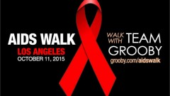 Grooby Productions Joins AIDS Walk