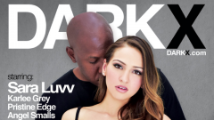 Mason Directs Dark X's Debut DVD 'Her 1st Interracial'