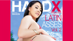 Hard X Streets 'Latin Asses Vol. 2' With Kristina Rose's Comeback B/G