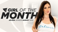 Jelena Jensen Named Girlsway's August Girl of Month