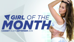 Cassidy Klein Named Girlsway Girl of the Month
