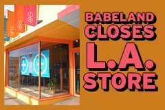 Los Angeles Babeland Store Closes