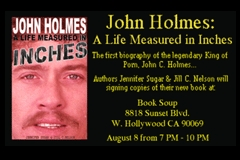John Holmes Biography Rolls Out Aug. 8