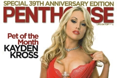 Kayden Kross Is Penthouse Pet for Sept.