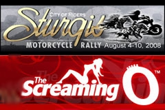 Screaming O 'Scream Team' at Sturgis Motorcycle Rally