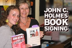 Holmes Bio Book Signing Draws Fans